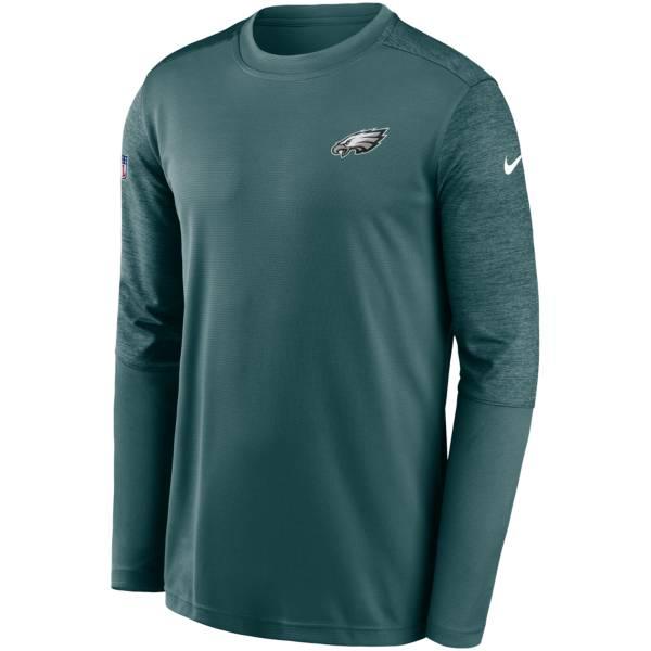 Nike Men's Philadelphia Eagles Sideline Coach Long-Sleeve T-Shirt product image