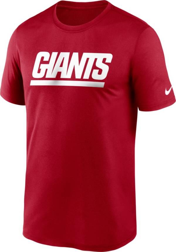 Nike Men's New York Giants Sideline Dri-Fit Cotton  T-Shirt product image