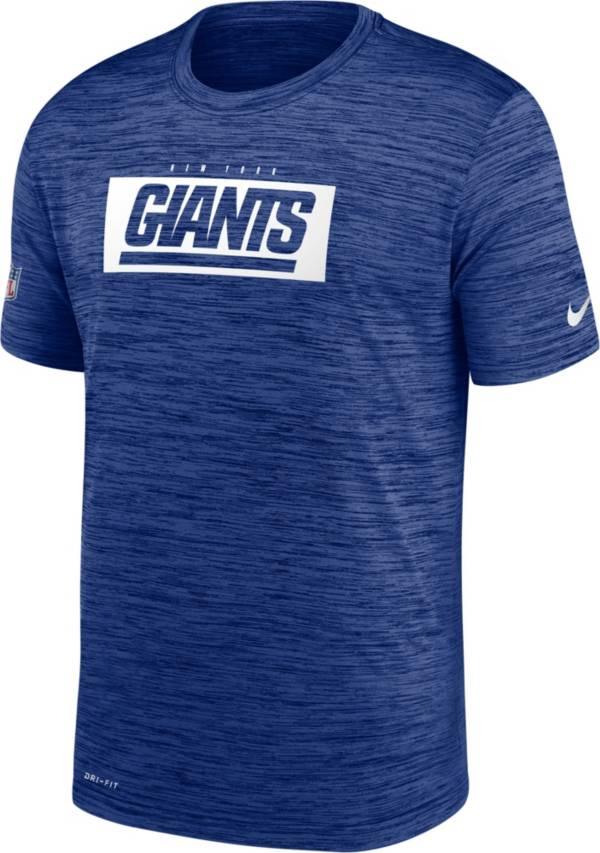 Nike Men's New York Giants Sideline Legend Velocity Royal T-Shirt product image