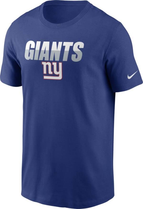 Nike Men's New York Giants Split Name T-Shirt product image