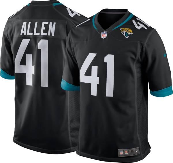 Nike Men's Jacksonville Jaguars Josh Allen #41 Black Game Jersey product image