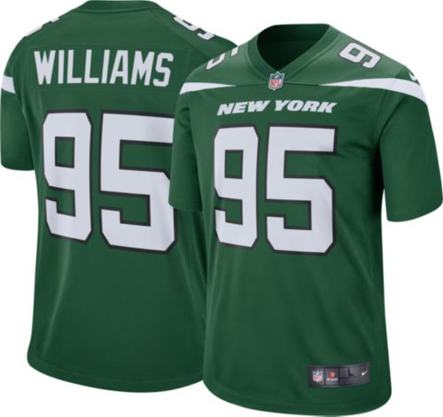 f4c6bae8c Quinnen Williams Nike Men's New York Jets Home Game Jersey | DICK'S  Sporting Goods