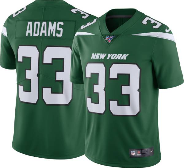 Nike Men's 100th Home Limited Jersey New York Jets Jamal Adams #33 product image
