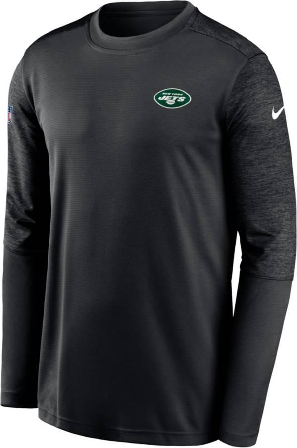 Nike Men's New York Jets Coaches Sideline Long Sleeve T-Shirt product image