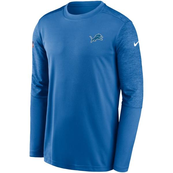 Nike Men's Detroit Lions Coaches Sideline Long Sleeve Shirt product image
