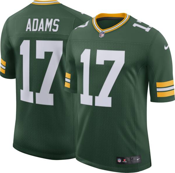 Nike Men's 100th Home Limited Jersey Green Bay Packers Davante Adams #17 product image