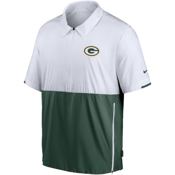 Nike Men's Green Bay Packers Coaches Sideline Half-Zip Jacket product image