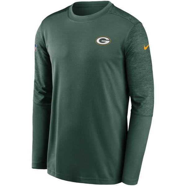 Nike Men's Green Bay Packers Coaches Sideline Long Sleeve Shirt product image