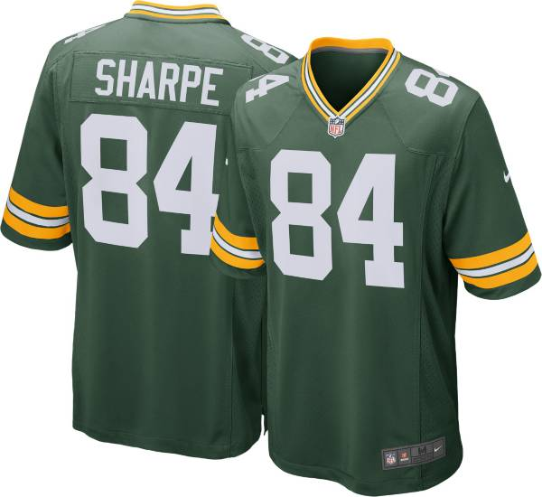 Nike Men's Green Bay Packers Sterling Sharpe #84 Green Game Jersey product image