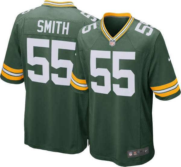 Nike Men's Home Game Jersey Green Bay Packers Za'Darius Smith #55 product image