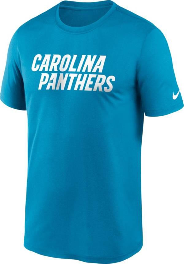 Nike Men's Carolina Panthers Sideline Dri-Fit Cotton  T-Shirt product image