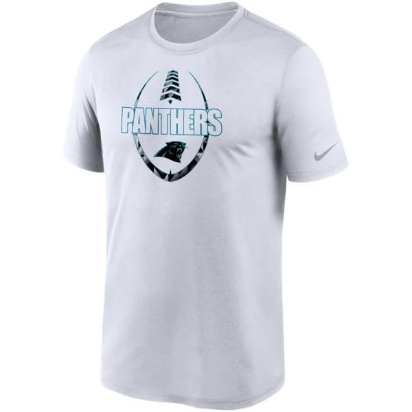 Nike Men's Carolina Panthers Legend Icon White T-Shirt product image