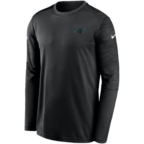 Nike Men's Carolina Panthers Coaches Sideline Long Sleeve T-Shirt product image