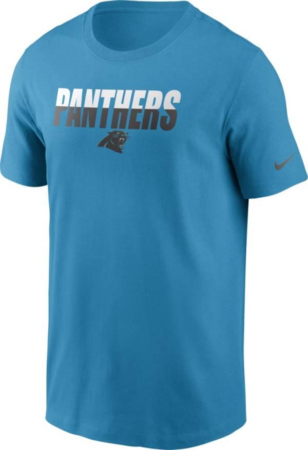 Nike Men's Carolina Panthers Split Name T-Shirt product image