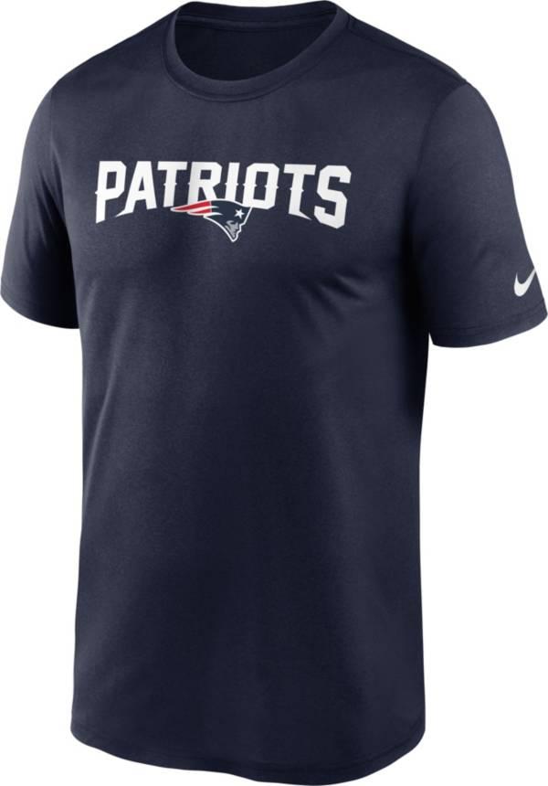 Nike Men's New England Patriots Sideline Dri-Fit Cotton  T-Shirt product image