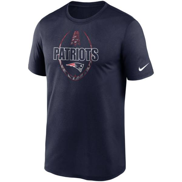 Nike Men's New England Patriots Legend Icon Navy T-Shirt product image