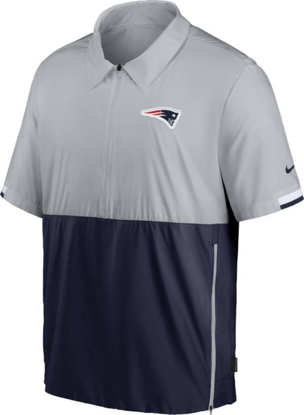 Nike Men's New England Patriots Coaches Sideline Half-Zip Jacket product image