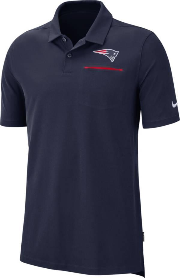 Nike Men's New England Patriots Sideline Elite Performance Navy Polo product image