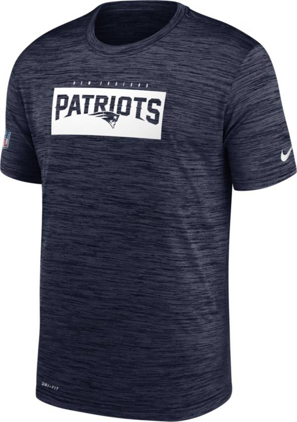 Nike Men's New England Patriots Sideline Dri-Fit Cotton  T-Shirt product image