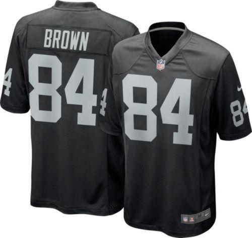 9dc7497972a8 Antonio Brown  84 Nike Men s Oakland Raiders Home Game Jersey.  noImageFound. Previous