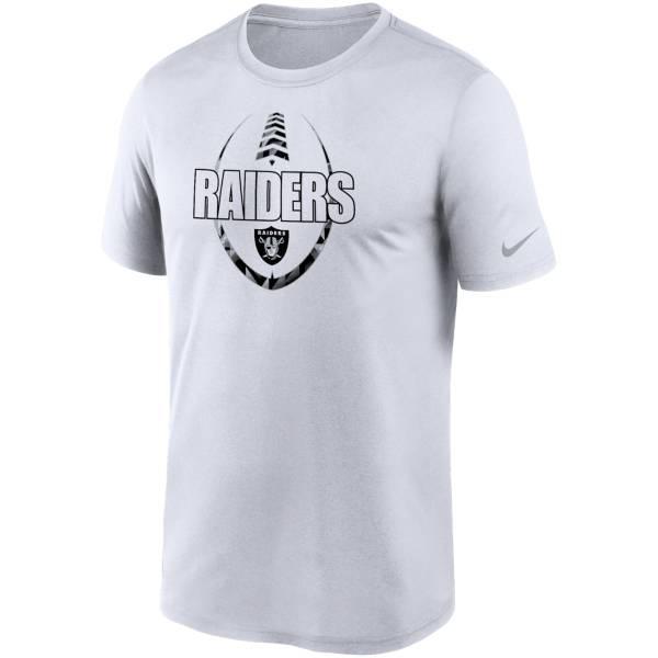 Nike Men's Las Vegas Raiders Legend Icon White T-Shirt product image