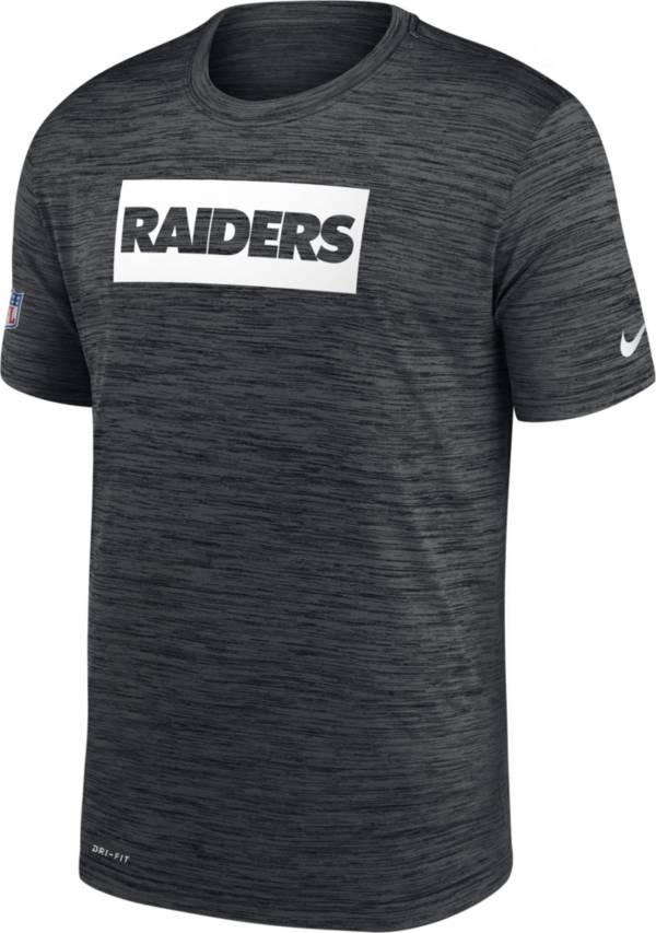 Nike Men's Las Vegas Raiders Sideline Legend Velocity Black T-Shirt product image