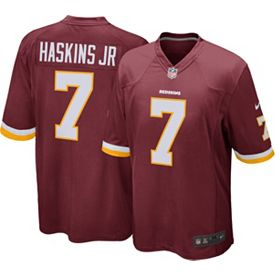 sale retailer 3231e 5bab9 Nike Men's Home Game Jersey Washington Redskins Dwayne Haskins #7