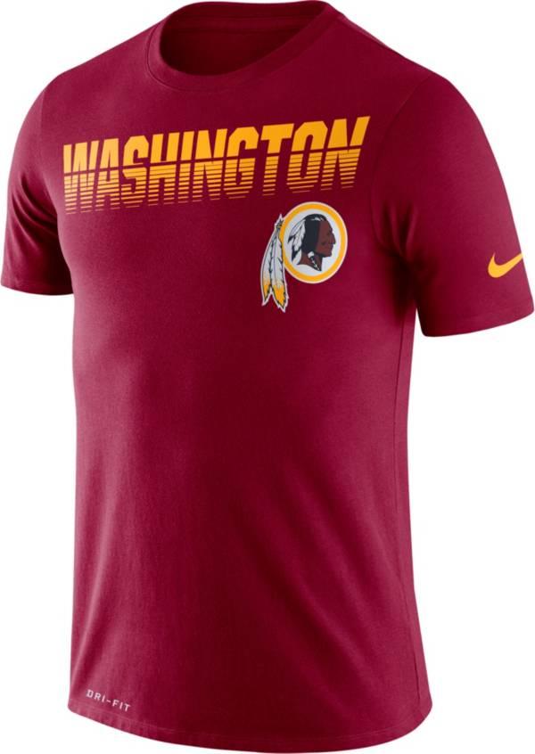Nike Men's Washington Redskins Sideline Legend Performance Red T-Shirt product image