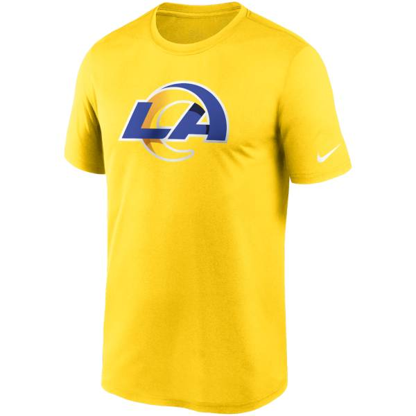 Nike Men's Los Angeles Rams Legend Logo Gold T-Shirt product image