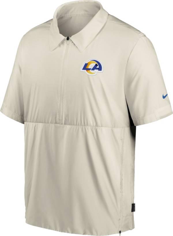 Nike Men's Los Angeles Rams Coaches Sideline Half-Zip Jacket product image