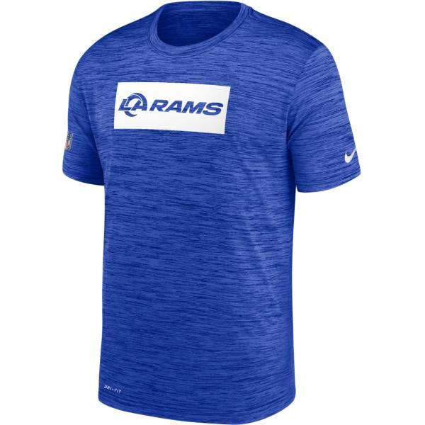 Nike Men's Los Angeles Rams Sideline Legend Velocity Royal T-Shirt product image