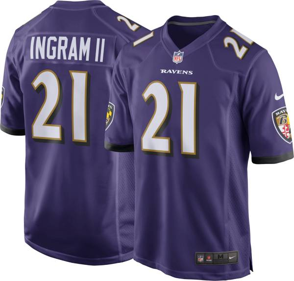 Mark Ingram Nike Men's Baltimore Ravens Home Game Jersey product image