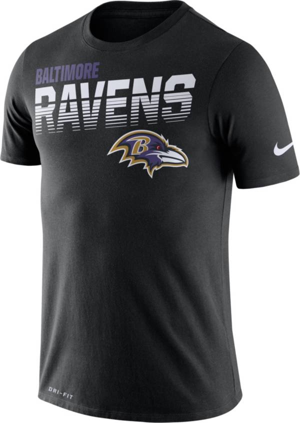 Nike Men's Baltimore Ravens Sideline Legend Performance Black T-Shirt product image