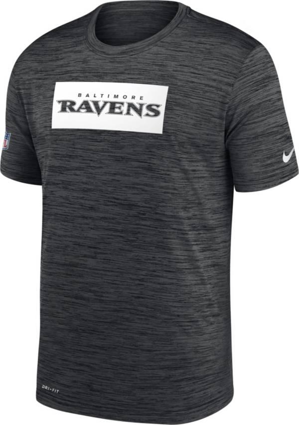Nike Men's Baltimore Ravens Sideline Legend Velocity Black T-Shirt product image