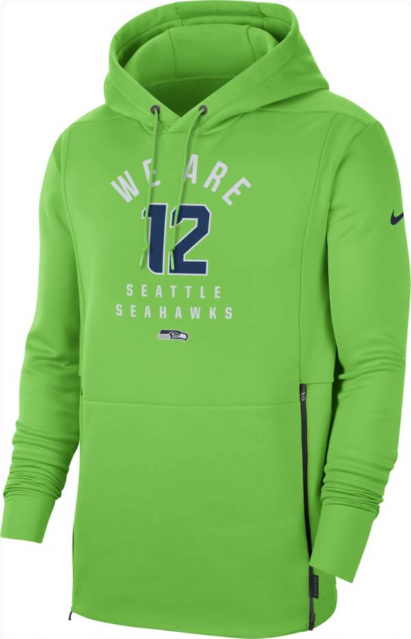 Nike Men's Seattle Seahawks Sideline Therma-FIT Local Green Performance Hoodie product image