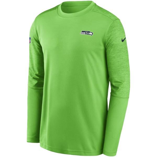 Nike Men's Seattle Seahawks Coaches Sideline Long Sleeve Shirt product image