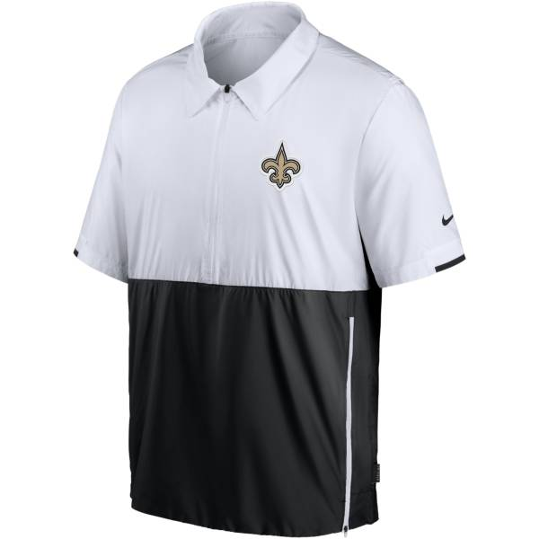 Nike Men's New Orleans Saints Coaches Sideline Half-Zip Jacket product image