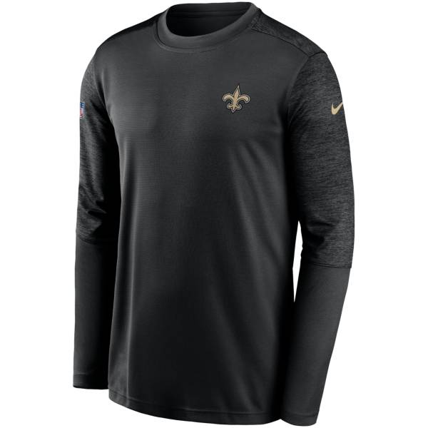 Nike Men's New Orleans Saints Coaches Sideline Long Sleeve T-Shirt product image