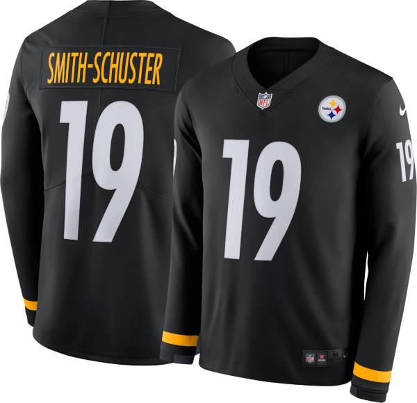 Nike Men's Pittsburgh Steelers JuJu Smith-Schuster #19 Therma-FIT Long Sleeve Jersey product image