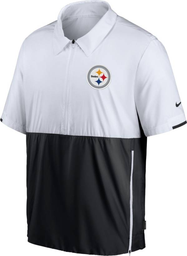 Nike Men's Pittsburgh Steelers Coaches Sideline Half-Zip Jacket product image