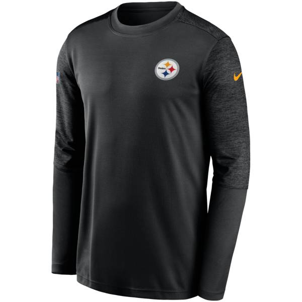 Nike Men's Pittsburgh Steelers Sideline Coach Long-Sleeve T-Shirt product image