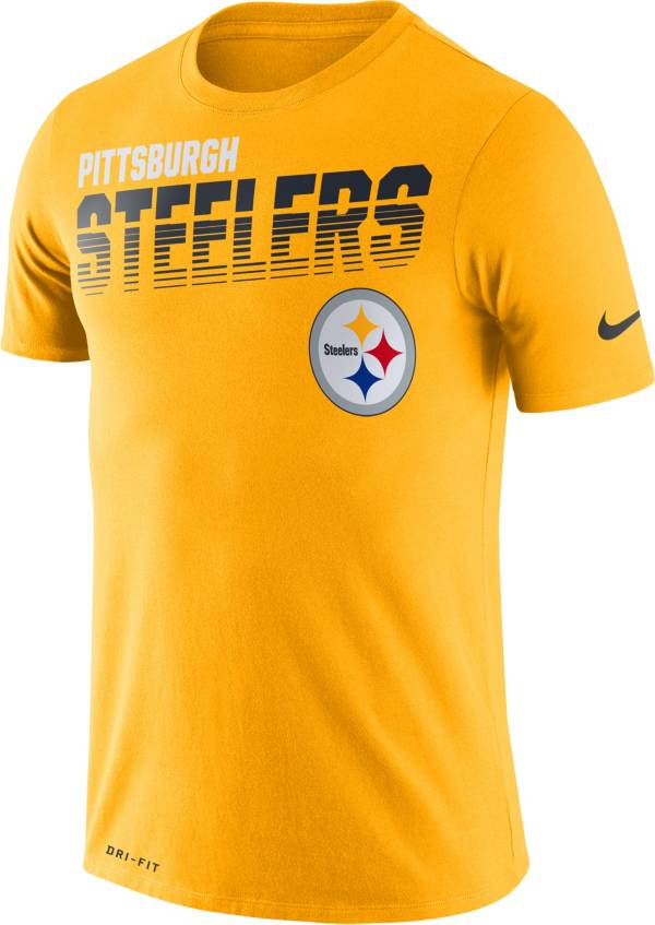 Nike Men's Pittsburgh Steelers Sideline Legend Performance Gold T-Shirt product image