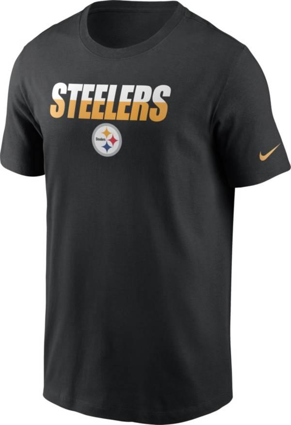 Nike Men's Pittsburgh Steelers Split Name T-Shirt product image