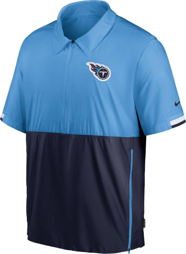 Nike Men's Tennessee Titans Coaches Sideline Half-Zip Jacket product image
