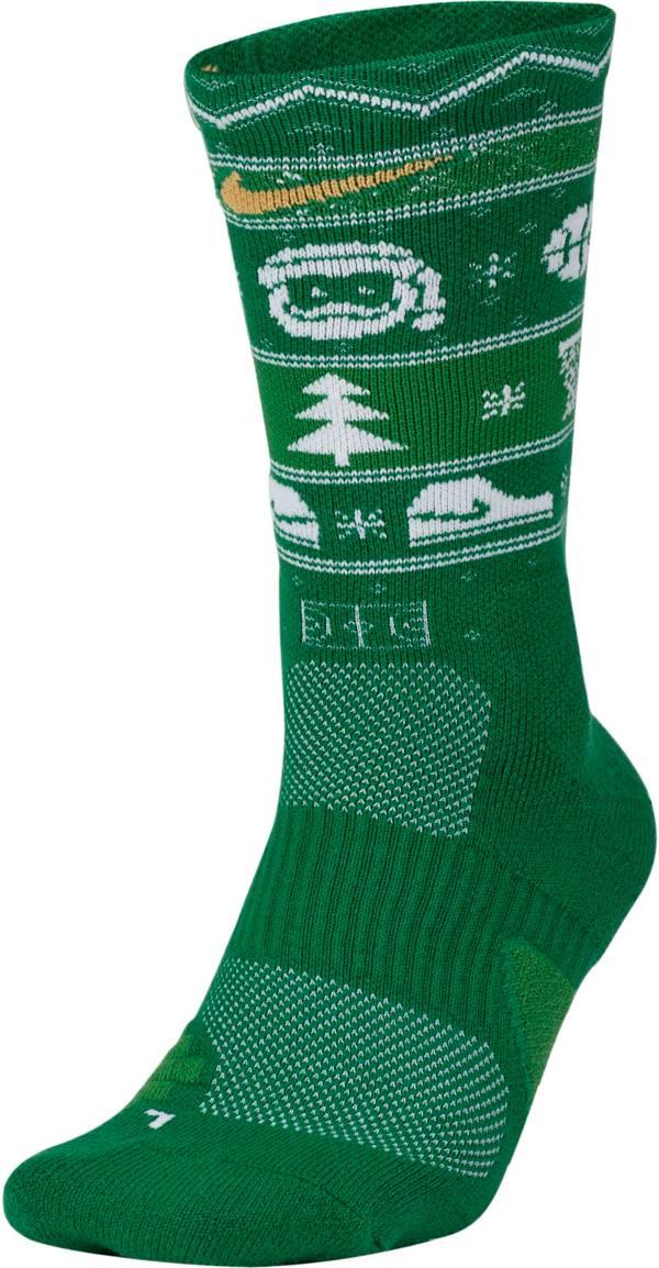 Nike Men's Elite Christmas Crew Socks product image