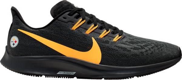 Nike Men's Pittsburgh Steelers Air Zoom Pegasus 36 Running Shoes product image