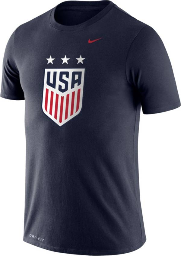 Nike Men's USA Soccer Crest Navy T-Shirt product image
