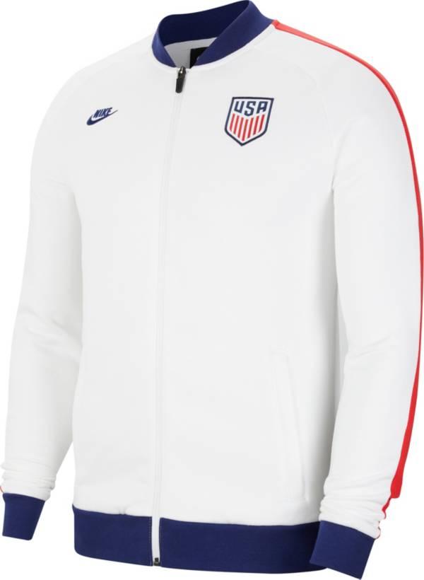 Nike Men's USA Soccer White Track Jacket product image