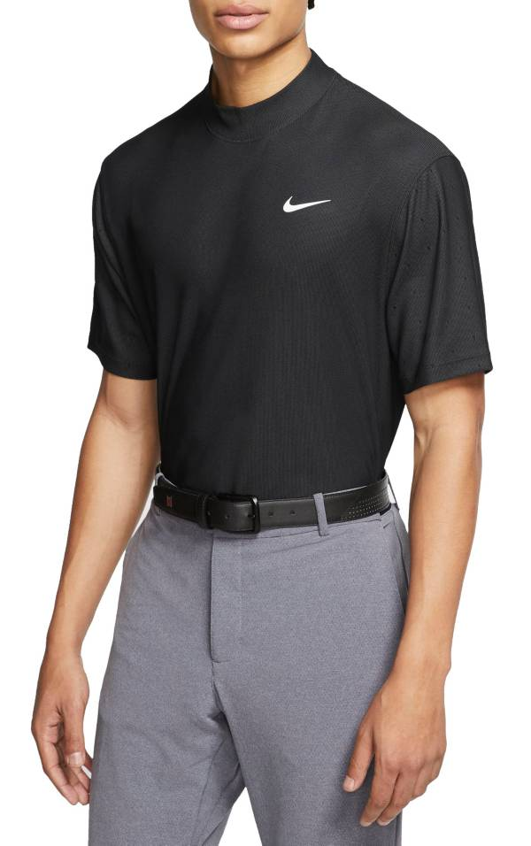 Nike Men's Tiger Woods Dri-FIT Mock-Neck Golf Polo product image