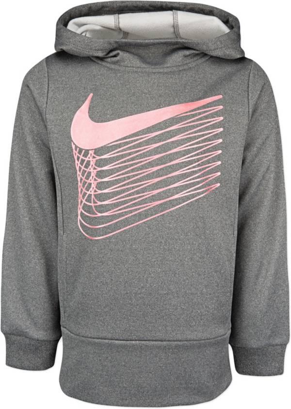 Nike Little Girls' Therma Fleece Tunic Hoodie product image